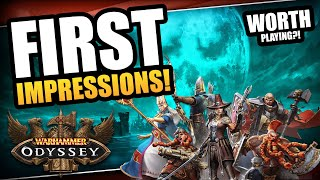 New Games Like Warhammer: Odyssey Recommendations