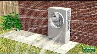 How the Dimplex A-Class air source heat pump provides heat for your home thumbnail