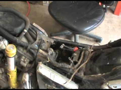 Carburetor Wiring Diagram Electric Roller Door Kawasaki Vulcan-gas Tank Work - Youtube