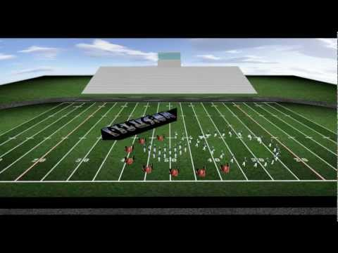Marching Band Drill Design - Optical Illusions - Music by Key Poulan