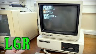 Tandy 1000 PC + CM-11 Monitor! Unboxing & Setup