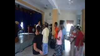 EVANGELISTA : INDIANA ACOSTA DE SANCHEZ-- FUEGO DE DIOS EN HAINA