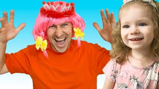 Hairdresser Song. Song about hairdresser.Nursery Rhymes by Sasha Kids Channel.
