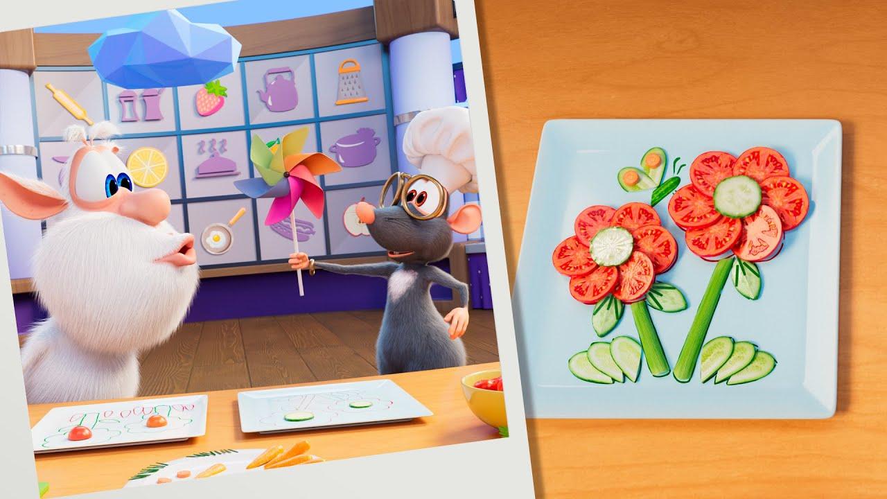 Буба 🥕 Кулинарное шоу: Сад на тарелке 🌻 Мультики для детей - Буба МультТВ