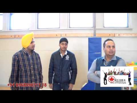Lester B.Pearson Vocational College - Davinder Singh from Ropar & Yuvraj Singh from Jalandhar