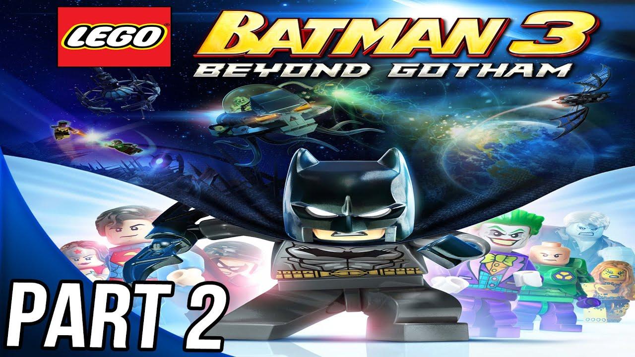 LEGO Batman 3 - Gameplay Walkthrough Part 2 - Level 2 ...
