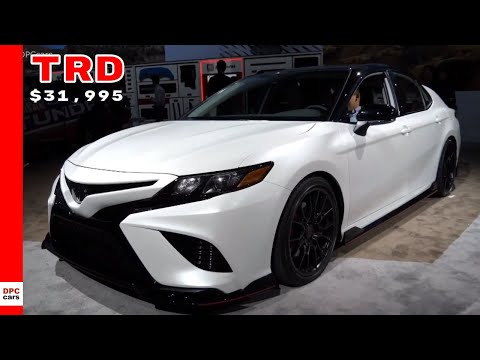 2020 Toyota Camry TRD Starts at $31,995