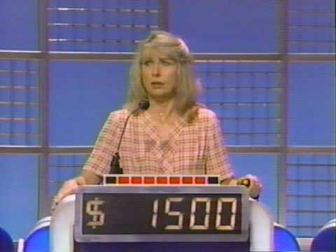 Ed Asner, Teri Garr and Pat Sajak on Celebrity Jeopardy (Part 2/4) - 1993