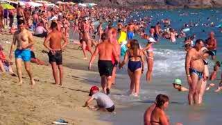 Пляж Клеопатры в Алании - 87 Kleopatra beach Alanya Cleopatra beach Лучшие пляжи