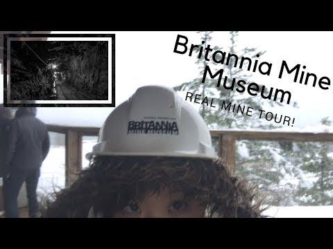 Britannia Mine Museum: Real Mine Tour!