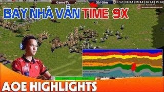Trận đấu quá KINH KHỦNG của Chim Sẻ - Chủ lực mất nhà time vẫn 9x | AoE Highlight