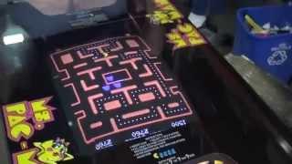 #643 Bally Midway Ms Pacman Cocktail Tabel 1981 Original Restoration! Tnt Amusements
