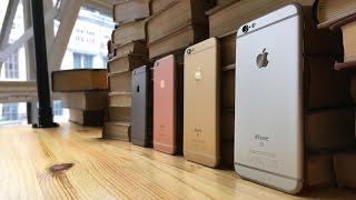 Подробный обзор iPhone 6s и 6s Plus
