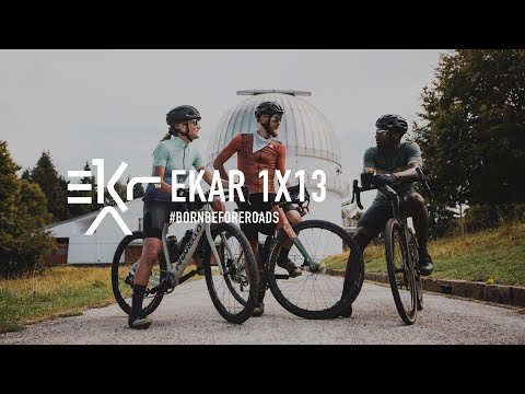 Introducing Campagnolo Ekar - The world's lightest gravel groupset: reliable, durable and fast.