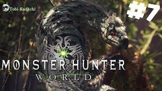 Monster Hunter World PL #7 - Elektryczny Potwór - Tobi-Kadachi | PC 1440P gameplay po polsku