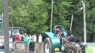 7500lb class part2 empire state tractors pullers 2009