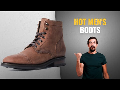 """Thursday Boot Company Captain Men's 6"""" Lace-Up Boot / Countdown To Valentine's Day 2019!"""