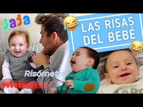 Bebés riéndose a carcajadas y otros retos