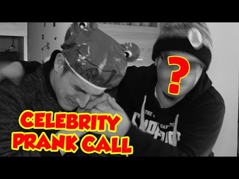 Celebrity voices for prank calling