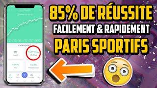 PARIS SPORTIFS : GAGNER SES PARIS A 85%
