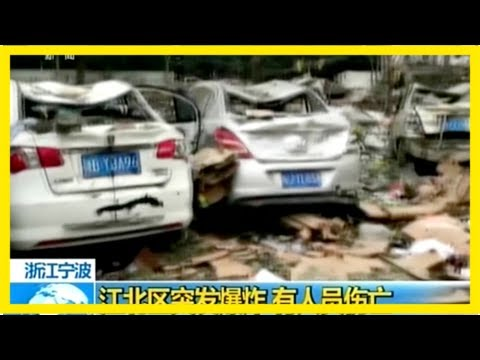 Two killed as explosion rocks chinese port city of ningbo