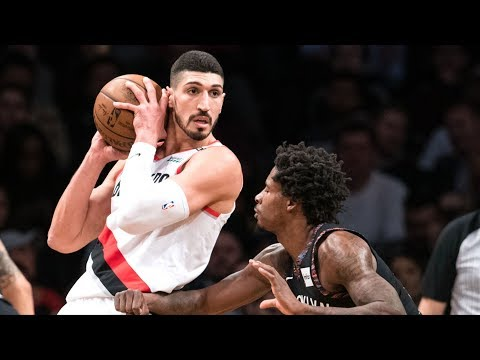 Enes Kanter Blazers Debut! Nurkic Dunks on 3! 2018-19 NBA Season