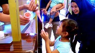 Lucunya!! Hana & Adik Rafa Dikerjain Tukang Es Krim Turki Jail - Ice Cream Unik dan Lucu