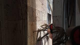 """Մոնտաժ """"Ռոմէրսոն""""ՍՊԸ➡️ պաշտպանիչ շերտավարագույրներ պատուհանի"""