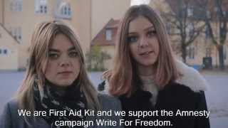 First Aid Kit support Write For Freedom