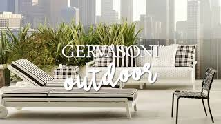 Discover the Gervasoni Outdoor Collection by Paola Navone - City (2019)
