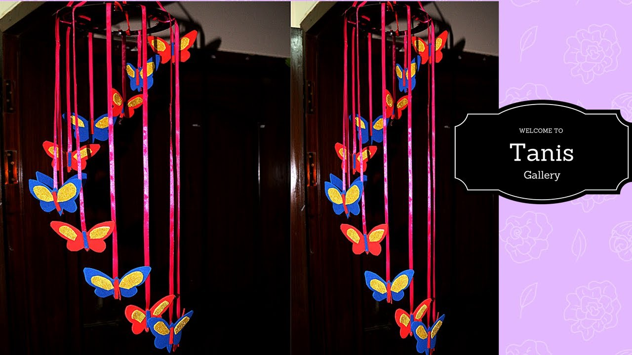 Butterfly Decoration In Room