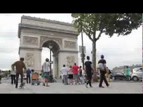 Khalil Kozah Cruising In Paris, France 2012