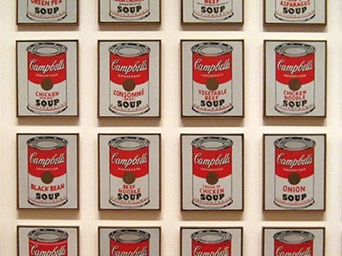 Andy Warhol - Campbell's Soup Cans (spiegato ai truzzi)