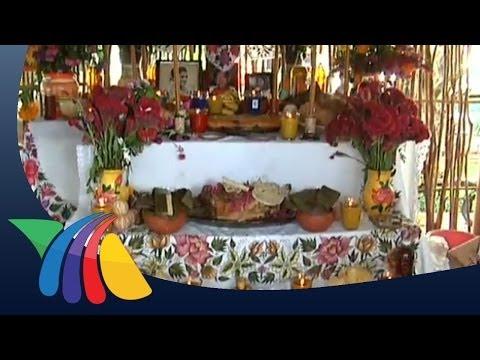 Muestra de altares de Hanal Pixán