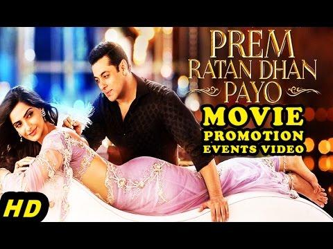 """Prem Ratan Dhan Payo"" (2015) Promotion Events Full Video | Salman Khan, Sonam Kapoor"