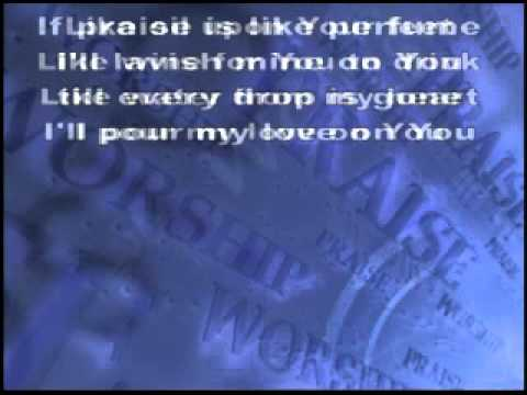 Pour My Love On You (karaoke)