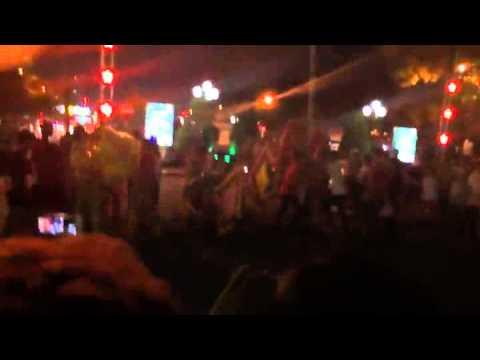 Solo múa lân đêm trung thu 2015 - TP Thái Nguyên