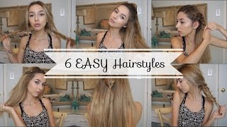 Quick and Cute Hairstyles for School ! | Chelsea Trevor