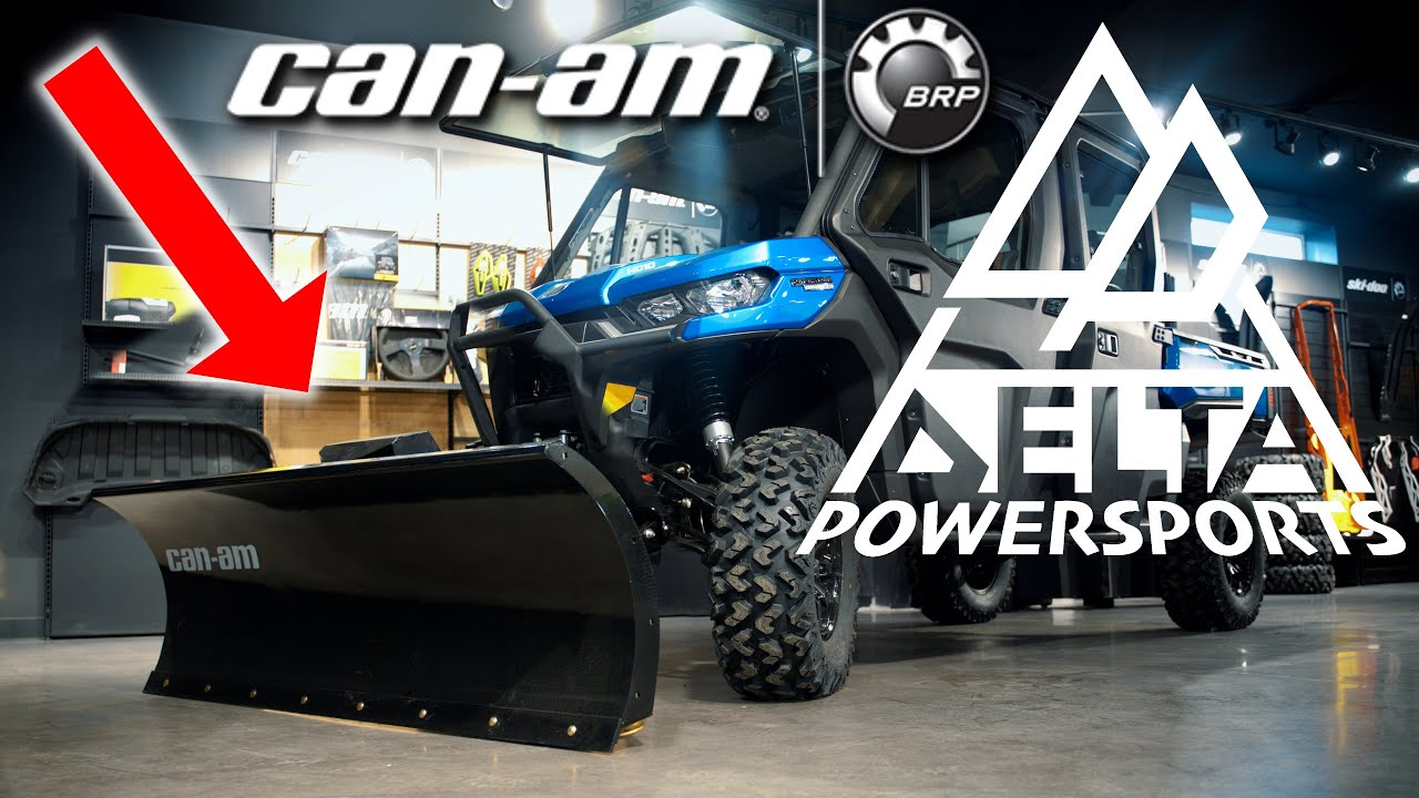 """Download 2021 Can-Am 84"""" Super Duty Plow With Hydraulic Tilt"""