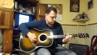 The Beatles - Norwegian Wood (This Bird Has Flown) - guitar cover