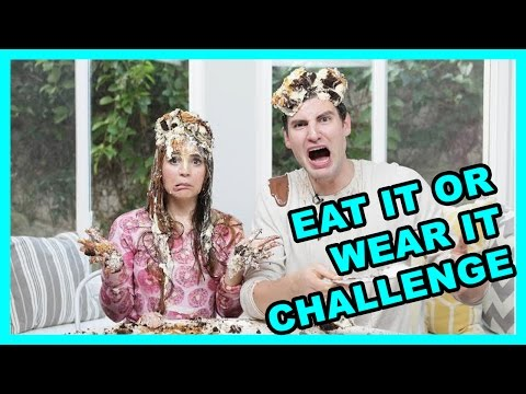 Thumbnail: EAT IT OR WEAR IT CHALLENGE! w/ Rosanna Pansino