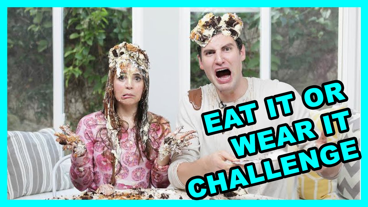 eat it or wear it challenge w rosanna pansino youtube