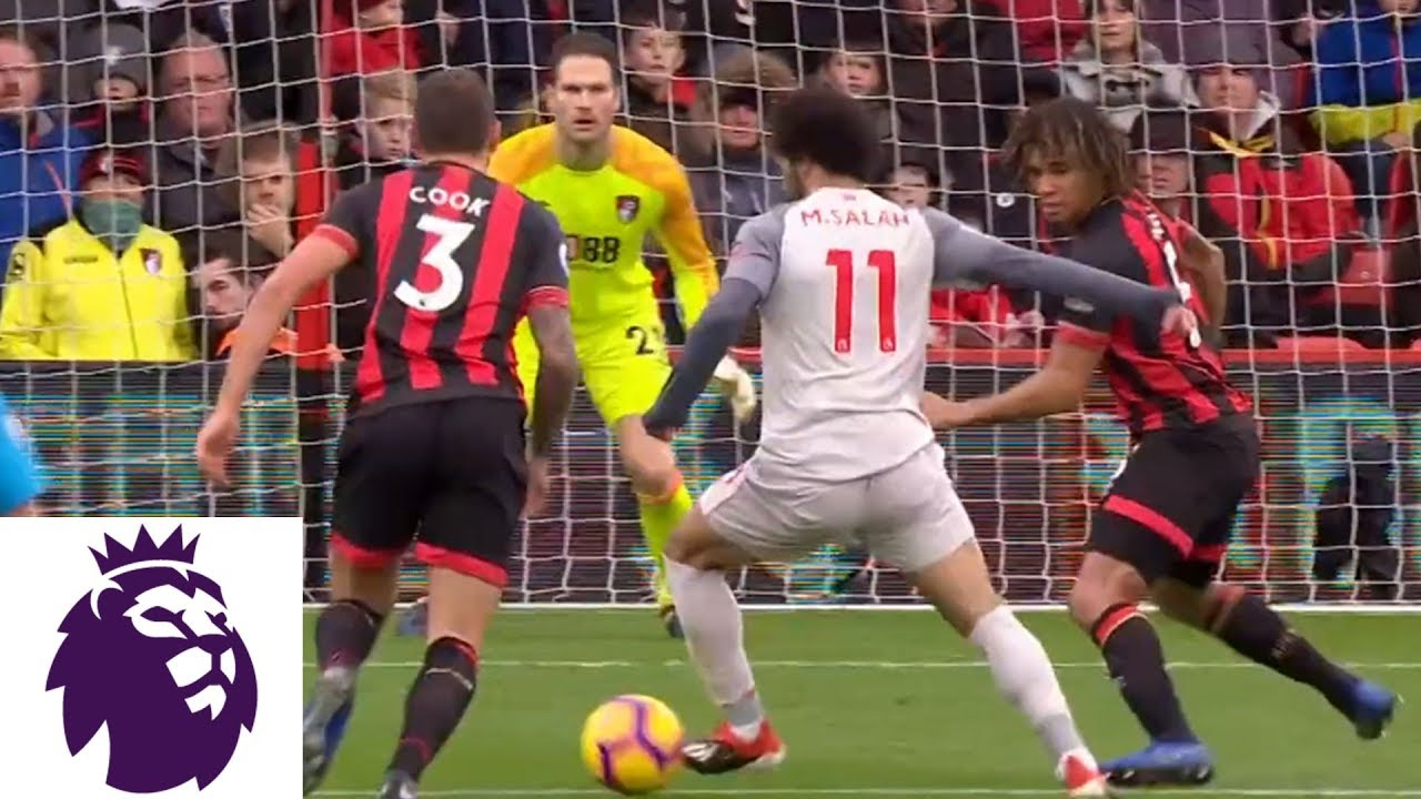 Salah scores his second to double Liverpool's lead v. Bournemouth | Premier League | NBC Sports