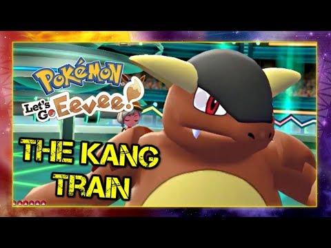 The Kang Train - Pokemon Lets Go Pikachu and Eevee Singles Wifi Battle