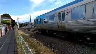 slo mo train melbourne upfield line ptv