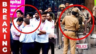 BREAKING: Police get ready and staffs sent out   Kalaignar   Kauvery Hospital   Karunanidhi Health