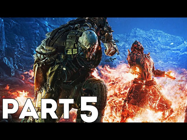 Outriders Gameplay Walkthrough Part 5- The Gate, Dunes & Utargak (Outriders Devastator Gameplay)