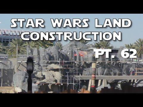 star wars land amazing progress pt 62 12 17 16 youtube