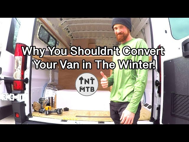 Camper Van Conversion-- Plumbing a Shower, Mounting a Water Tank