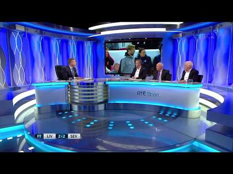 Liverpool vs Sevilla 2-2 full post game Analysis Dunphy, Hamann, Brady